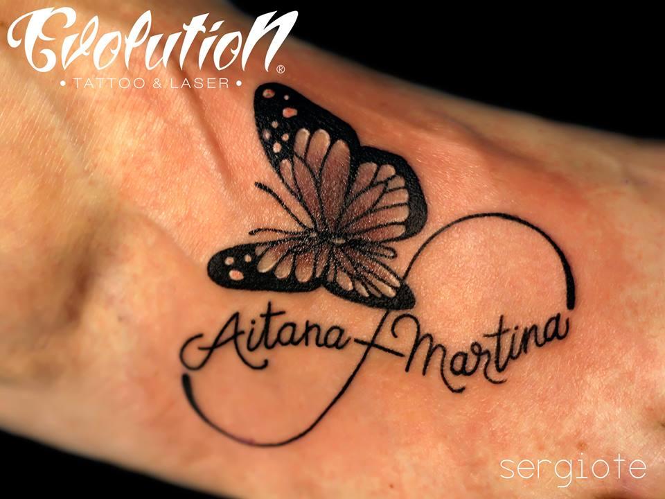 Tatuaje De Mariposa Evolution Tattoo Tatuajes Y Eliminacion